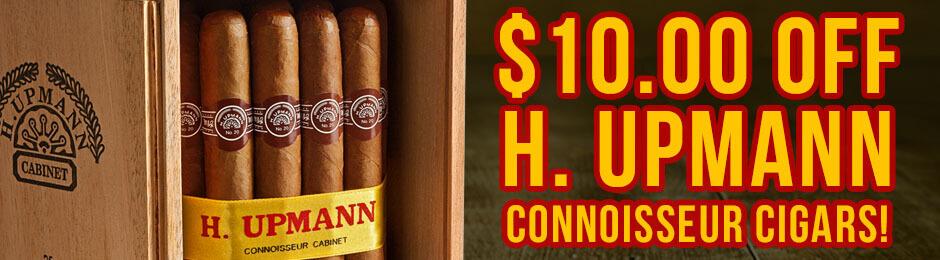 $10.00 Off H. Upmann Connoisseur Boxes!