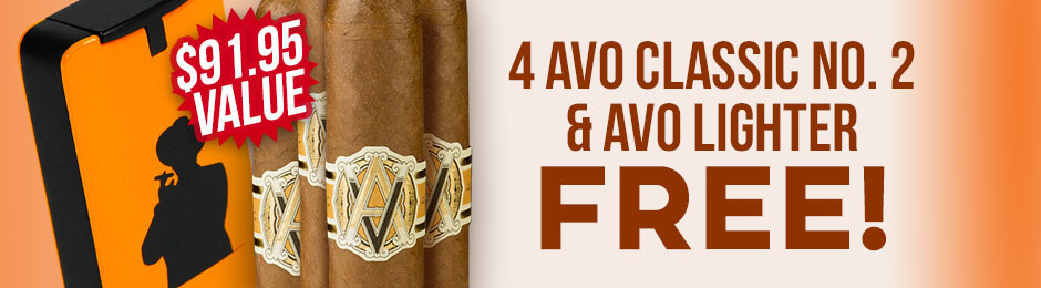 Avo 4-Pack & Lighter Free With Box Purchase!