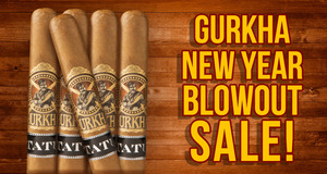 Save Big During The Gurkha New Year Blowout Sale!