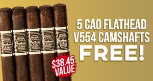 Flathead V554 Camshaft 5-Pack Free With CAO Boxes!