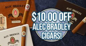 $10.00 Off Alec Bradley Boxes!
