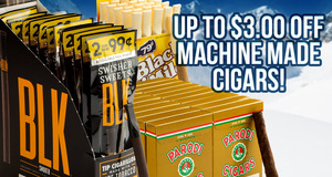 Up To $3.00 Off Parodi, Swisher Sweets, and Black & Mild Units!