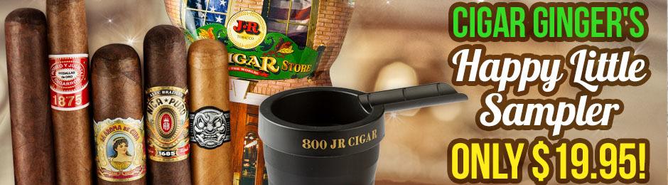 Cigar Ginger's Happy Little Herf Sampler Only $19.95!