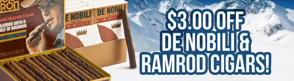 $3.00 Off De Nobili & Ramrod Units!