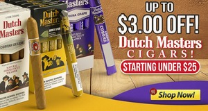 This Week, Save Up To $3.00 On Dutch Masters!