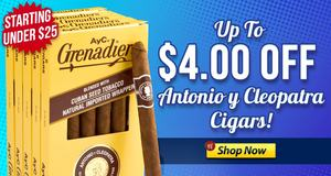 This Week, Save Up To $4 Off Antonio y Cleopatra!