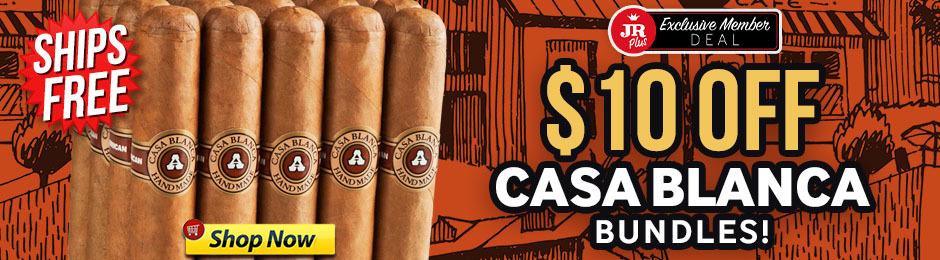 JR Plus Members Get $10 Off Casa Blanca Bundles + Free Shipping!
