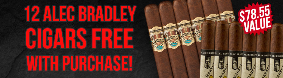 Alec Bradley 12-Pack Free With Box Purchase!