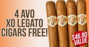 Free XO Legato 4-Pack With Avo Boxes!