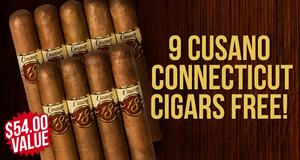 Cusano Connecticut 9-Pack Free With Purchase of Cusano Boxes!