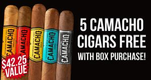 Camacho 5-Pack Free With Box Purchase!
