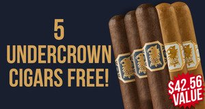 Free 5-Pack With Undercrown Boxes & Bundles!