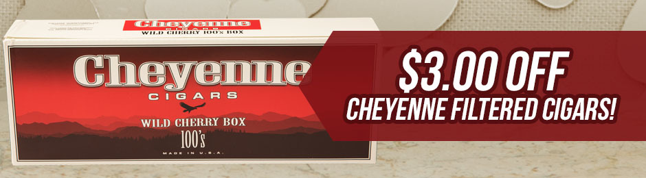 $3.00 Off Select Cheyenne Filtered Units!