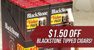 $1.50 Off Blackstone Tipped Units!