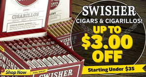 This Week, Get Up To $3.00 Off Swisher Cigars & Cigarillos!