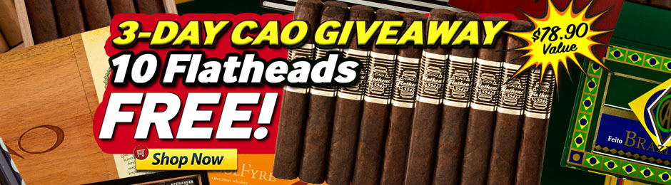 Free Flathead 10-Pack With CAO Boxes!