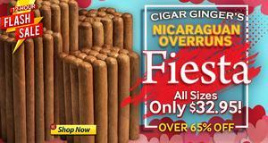 Cigar Ginger's Nicaraguan Overruns Bundles Only $32.95!