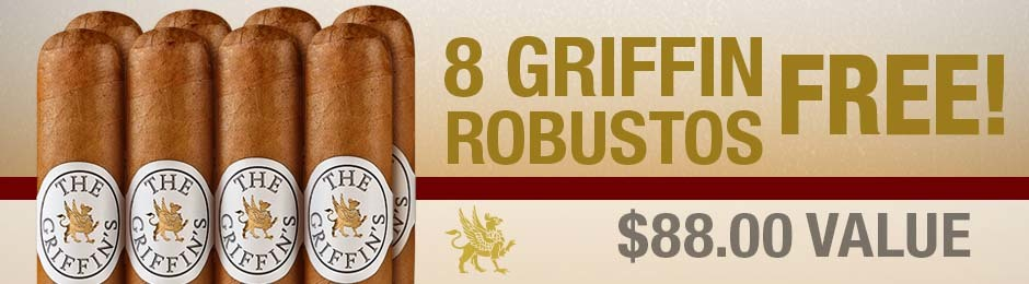 8 Griffin Robustos Free With Purchase!