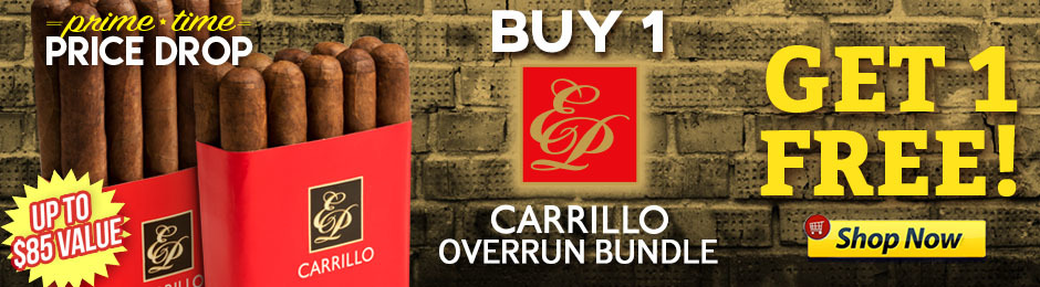 For 12 Hours, Buy 1 E.P. Carrillo Overruns Bundle, Get 1 Free!