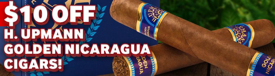 $10.00 Off H. Upmann Golden Nicaragua!