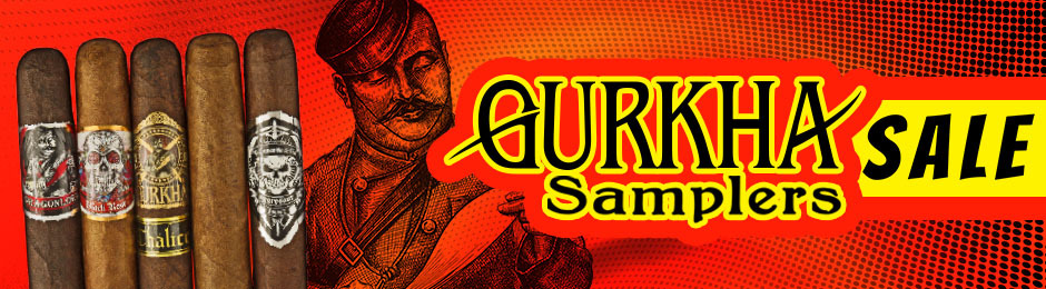 This Month, Select Gurkha Samplers Are On Sale!