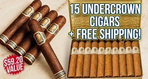 15-Pack + Free Shipping With Undercrown Boxes & Bundles!