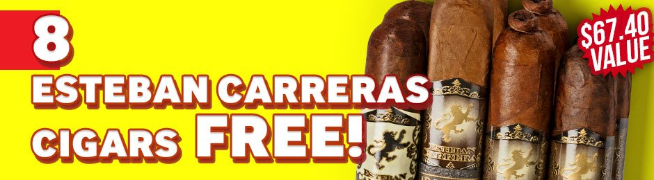 8-Pack Free With Boxes of Esteban Carreras!