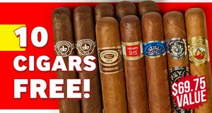 10-Pack Free With Montecristo Boxes!
