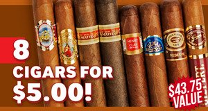 8-Pack For Only $5.00 More With Romeo y Julieta Boxes!
