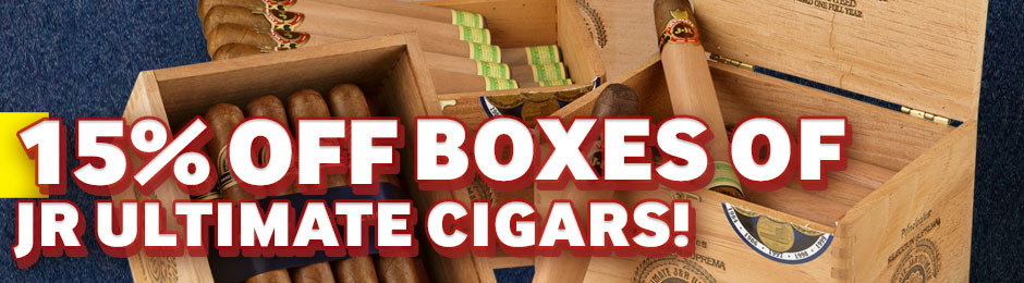 15% Off Select Boxes Of JR Ultimate!
