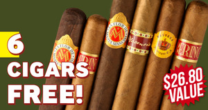 Free 6-Pack With Premium Handmade Boxes!
