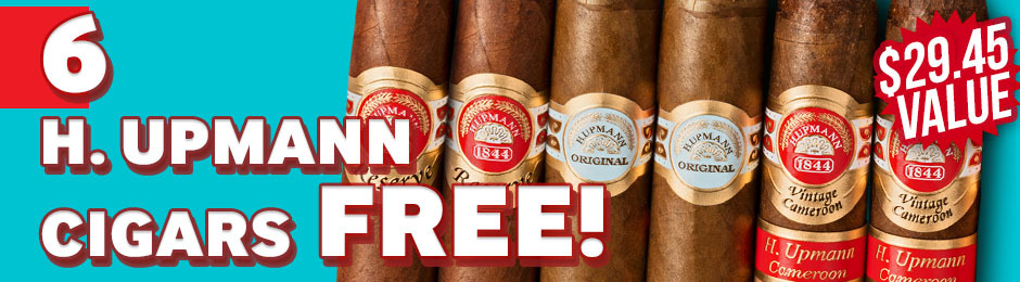 6-Pack Free With H. Upmann Box Purchase!