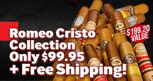 20-Count Romeo Cristo Collection For Only $99.95 + Free Shipping!