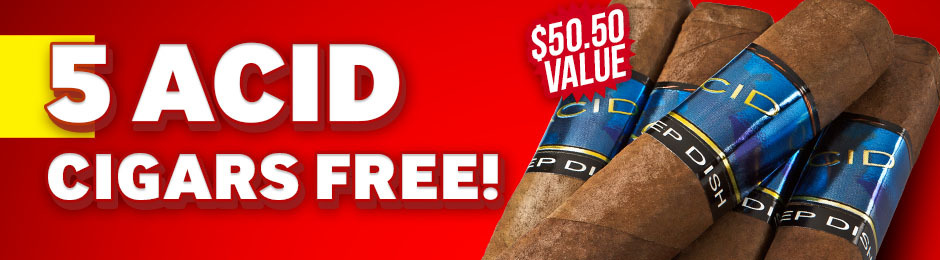 ACID Blue Deep Dish 5-Pack Free With Box Purchase!