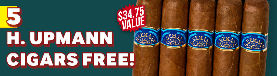 H. Upmann 5-Pack Free With Box Purchase!