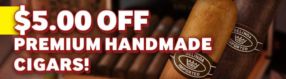$5.00 Off Premium Handmade Boxes!