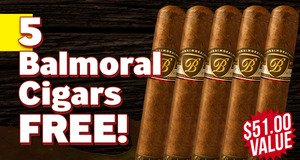 Balmoral XO Rothschild Massivo 5-Pack Free With Box Purchase!