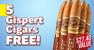 Gispert Belicoso 5-Pack Free With Box Purchase!