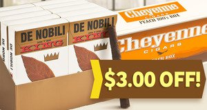 $3.00 Off Select De Nobili & Cheyenne Filtered Units!
