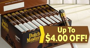 Up To $4.00 Off Dutch Masters Units!
