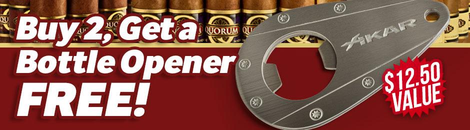 Xikar Bottle Opener With 2-Bundle Purchase!