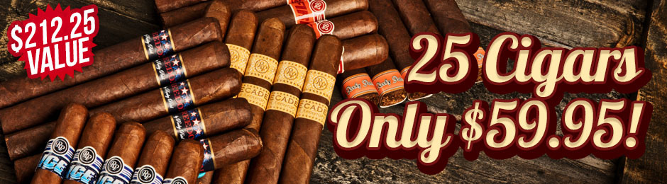 Rocky Patel Collection Only $59.95!