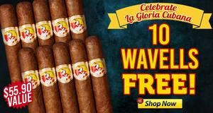 This Week, Get 10 La Gloria Cubana Sticks Free!