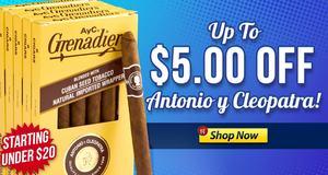 Get Up To $5.00 Off Units Of Antonio y Cleopatra!