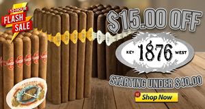 For 12 Hours Only, Get $15.00 Off 1876 Key West Bundles!