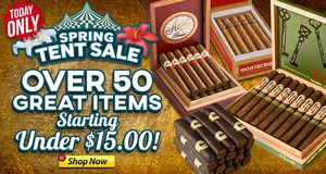 Today Only, Save Huge With Our Spring Tent Sale!