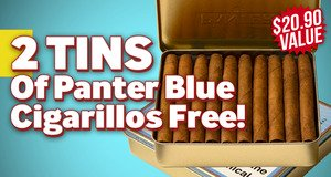 2 Free Panter Blue Tins