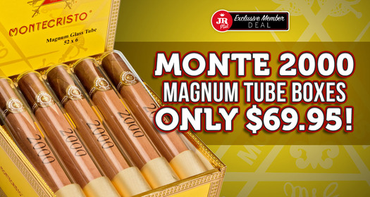 JR Plus Members Pay $69.95 For Monte 2000 Magnum Tubes + Free Shipping!