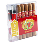 Romeo y Julieta Reserva Real 5 Toro and Lighter Set