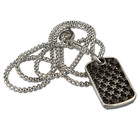 Room 101 Jewelry Stainless Guy Fieri Stars Dogtag